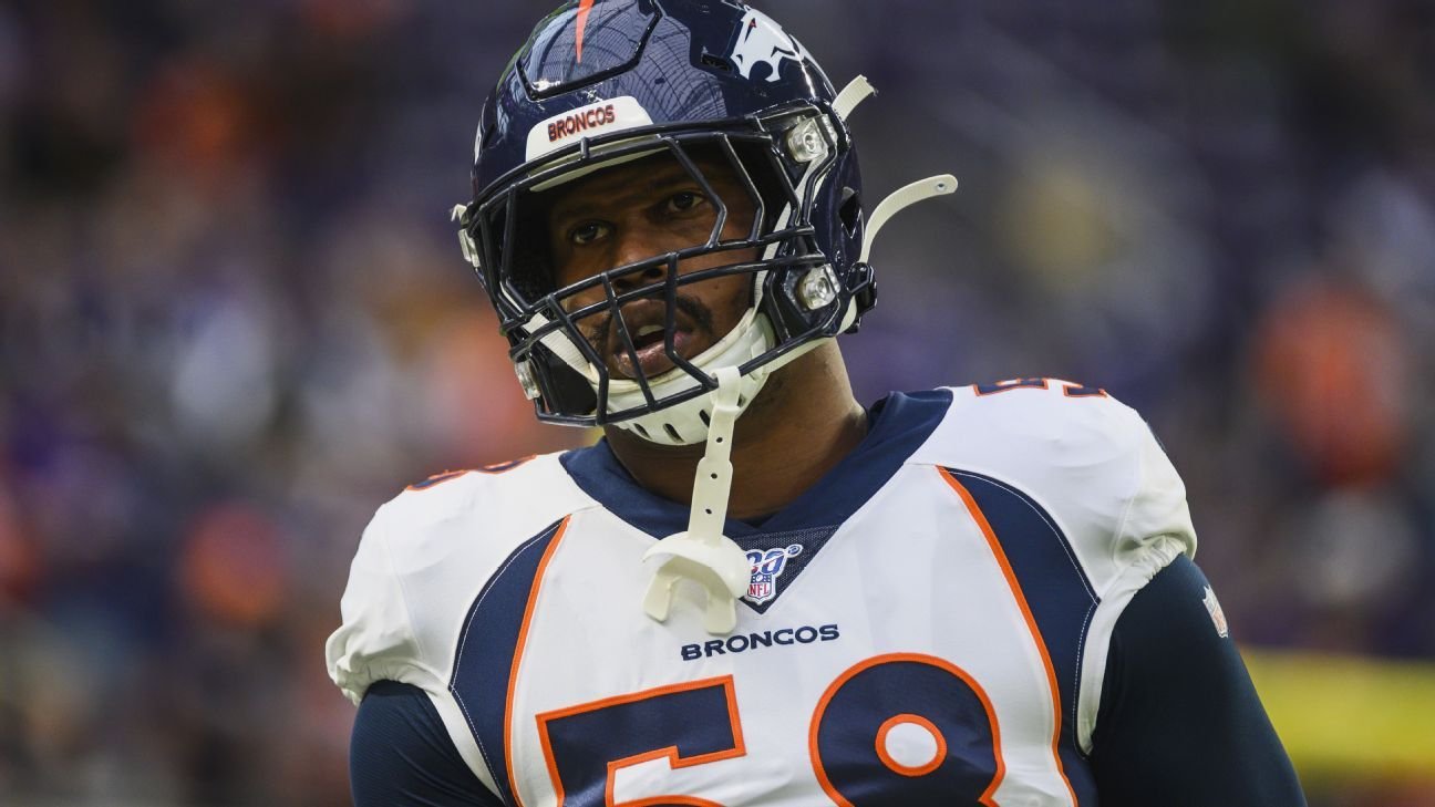 Broncos' Von Miller suffers potentially season-ending ankle injury