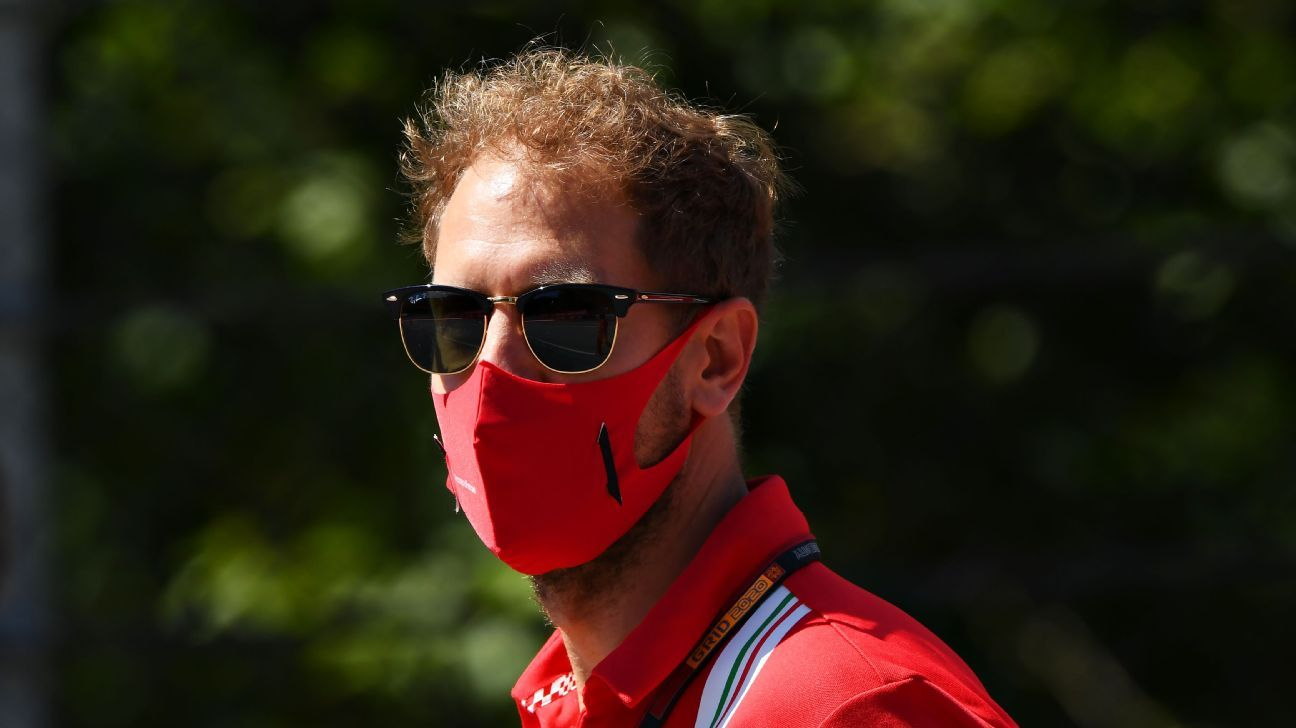 Vettel 'surprised' by Ferrari decision, says he was not offered new deal