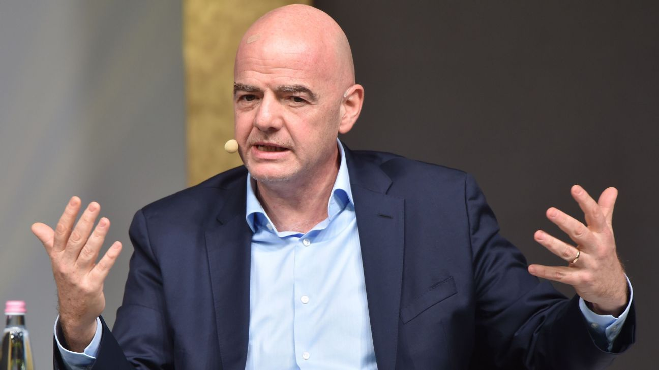 FIFA president accused of masterminding European Super League by La Liga  chief