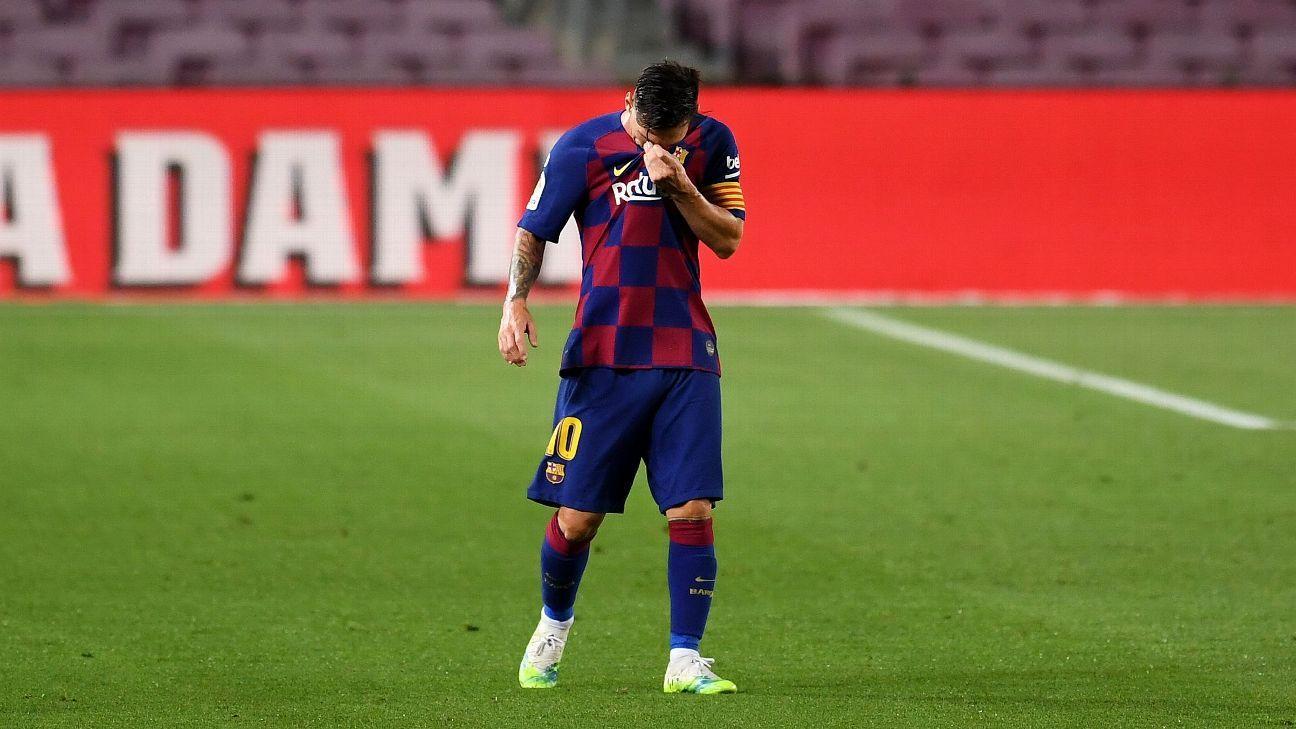 Messi sẽ rời Barcelona?  Nếu vậy, anh sẽ rời Argentina, MLS hay một đội với Ronaldo?