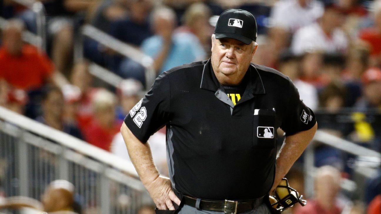 MLB trọng tài liên minh cách xa quan điểm của Joe West về coronavirus