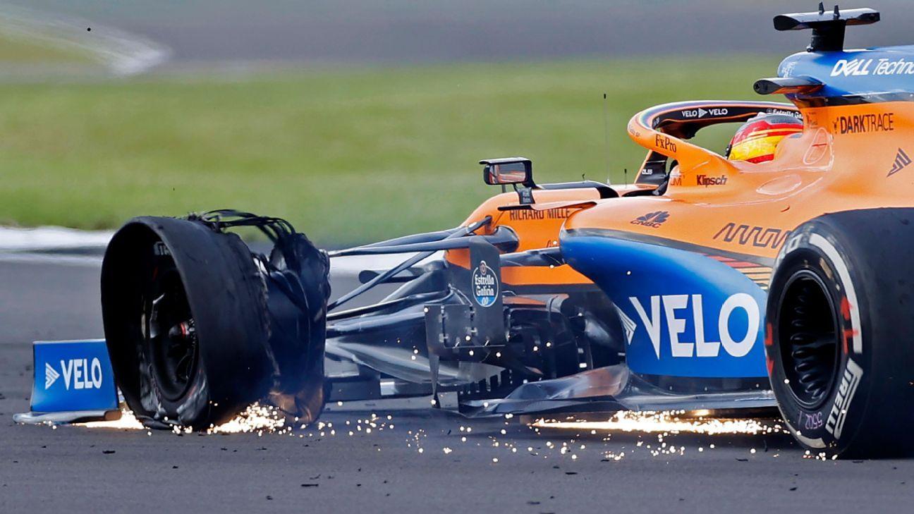 Pirelli launches '360 degree investigation' into British GP punctures