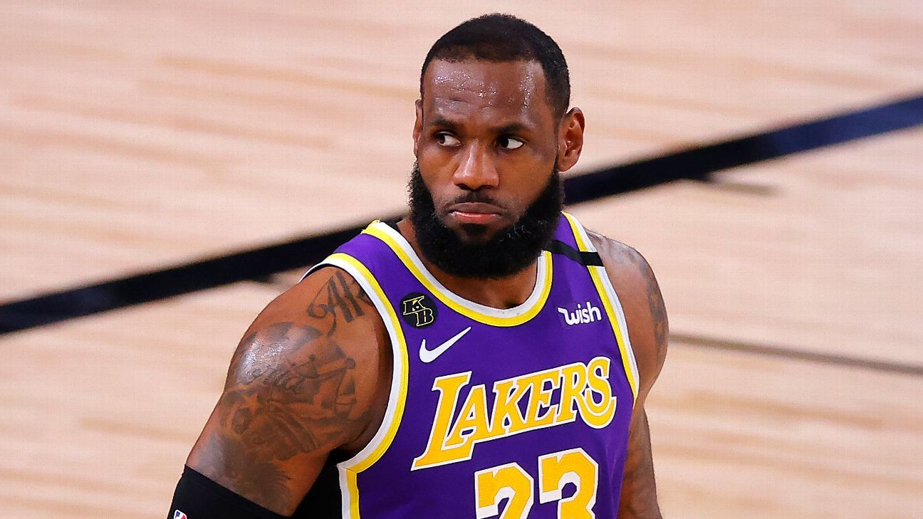 Don't take LeBron James for granted in 2020