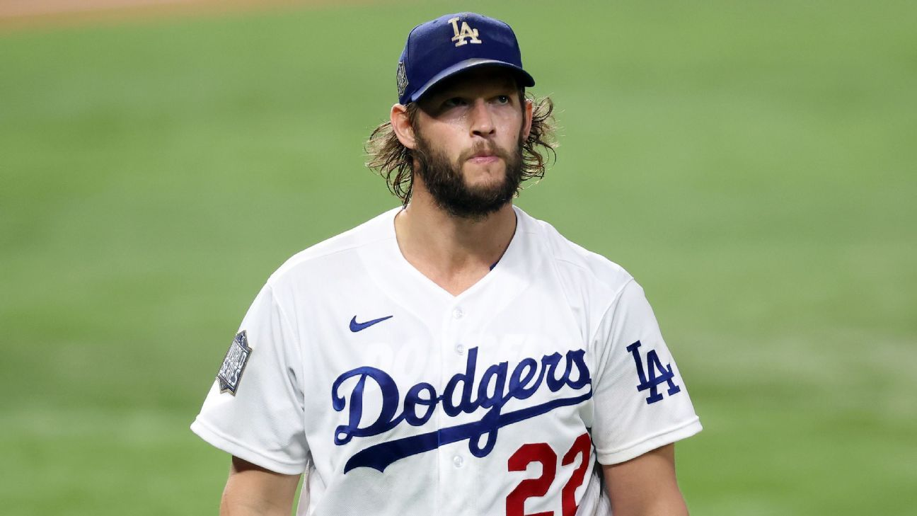 Dominant Kershaw propels Dodgers in Game 1