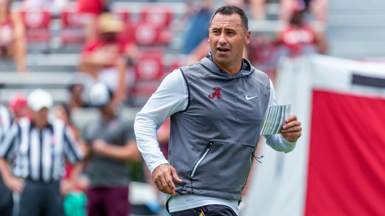 No outrunning his past, Alabama's Steve Sarkisian ready for another head-coaching job