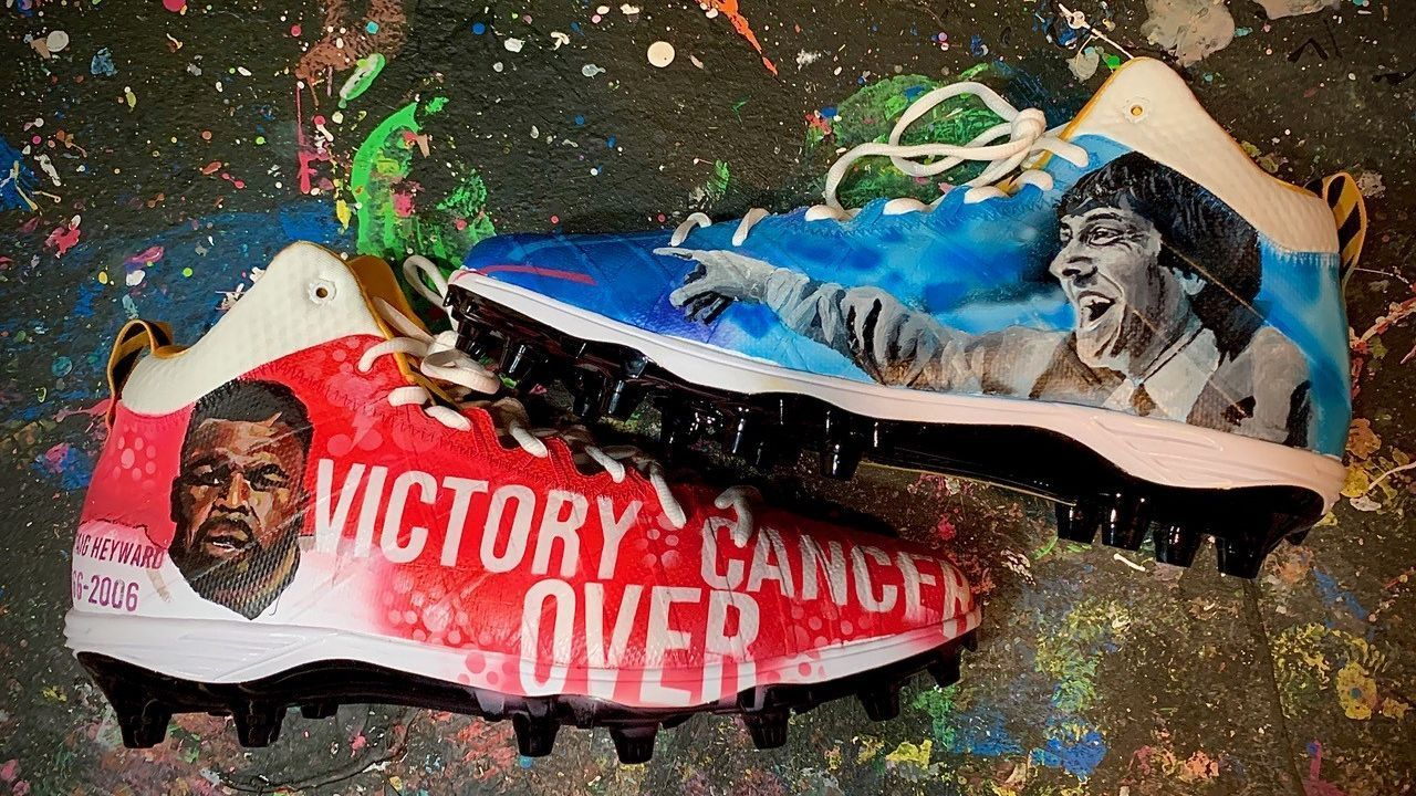 NFL players show off 'My Cause, My Cleats' shoes