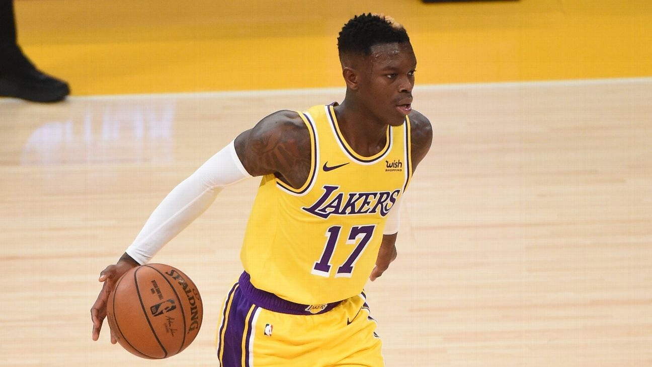 Sources: Lakers' Schroder out extended period