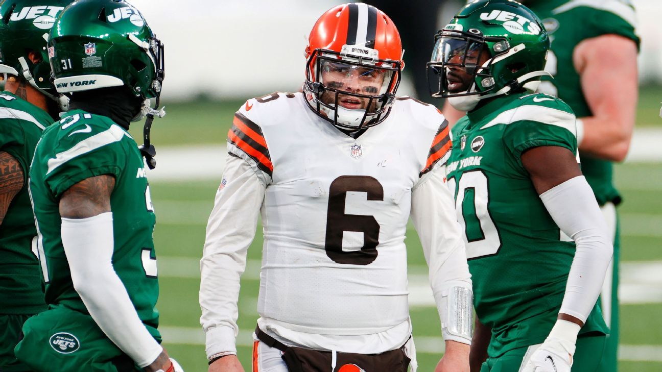 Baker Mayfield says he 'failed' Cleveland Browns' loss to New York Jets