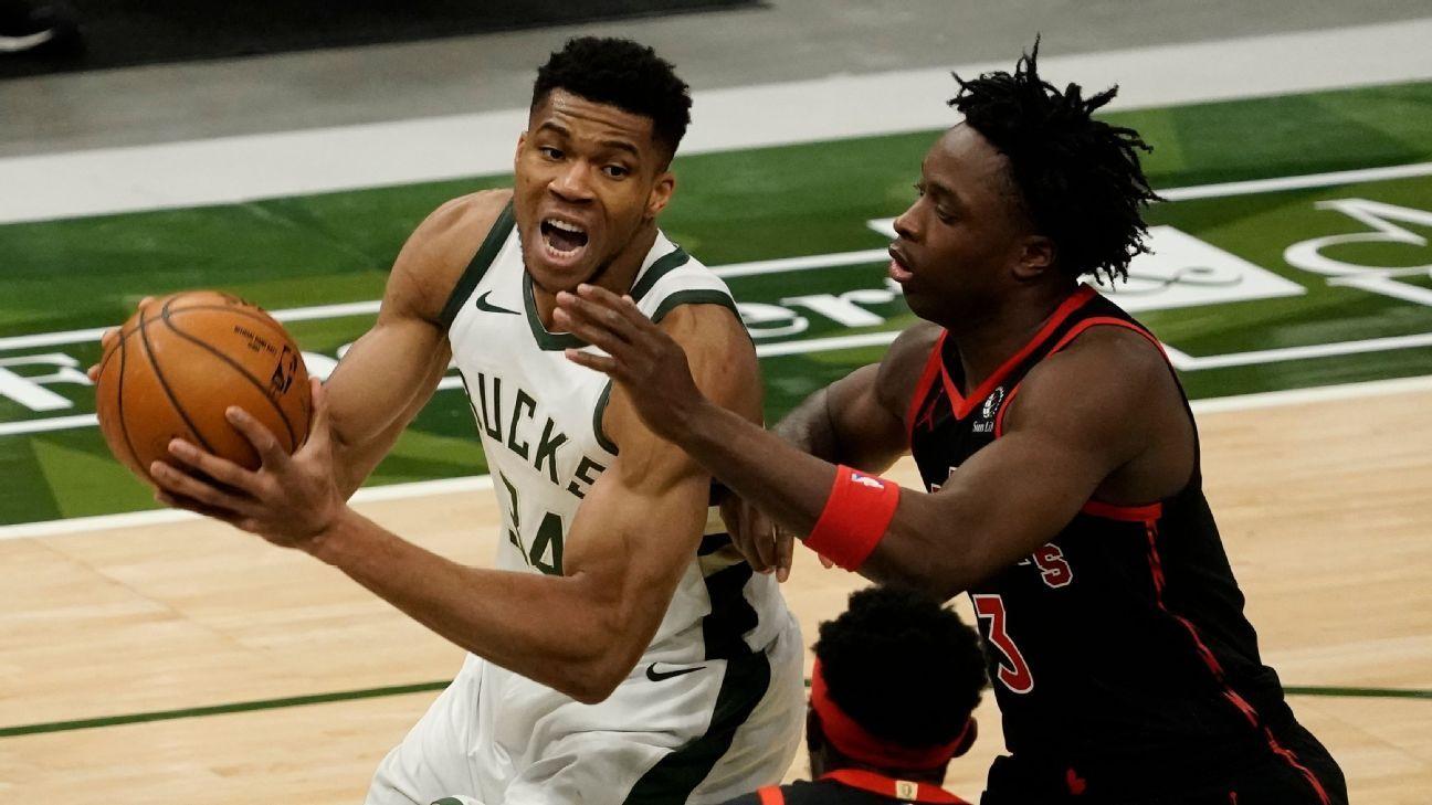 Giannis Antetokounmpo says Milwaukee Bucks' 4-game skid 'not the end of the world'