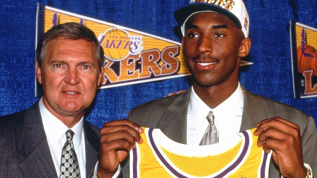 Kobe Bryant, Jerry West and the draft exercise that modified NBA historical past
