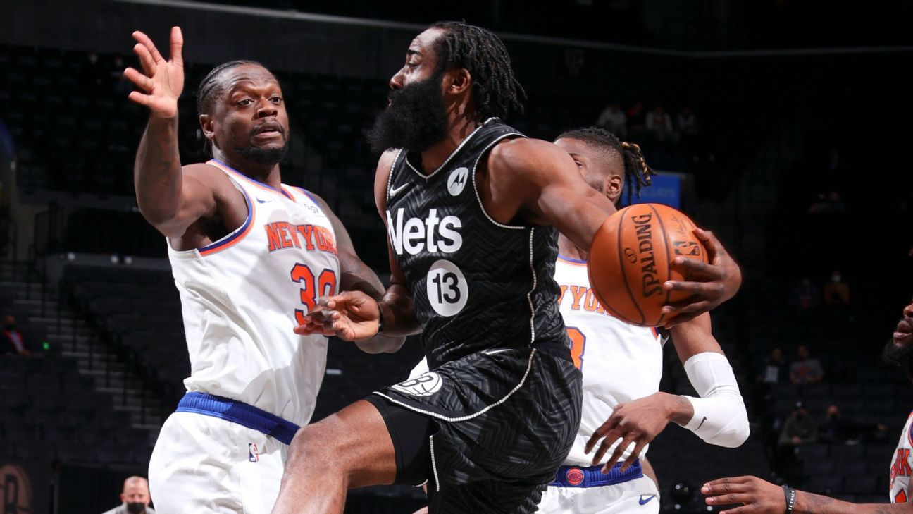 James Harden does some photo editing to throw shade at the Knicks
