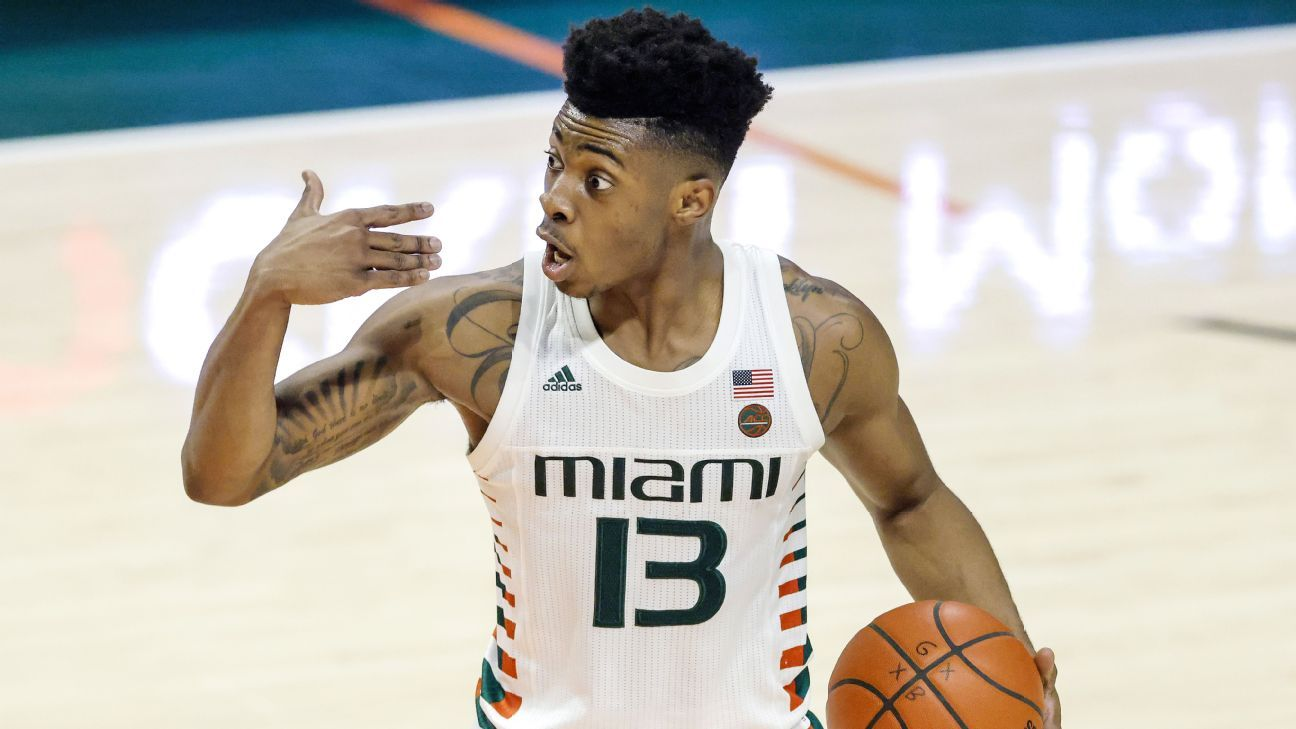 Miami Hurricanes transfers Earl Timberlake to Memphis Tigers