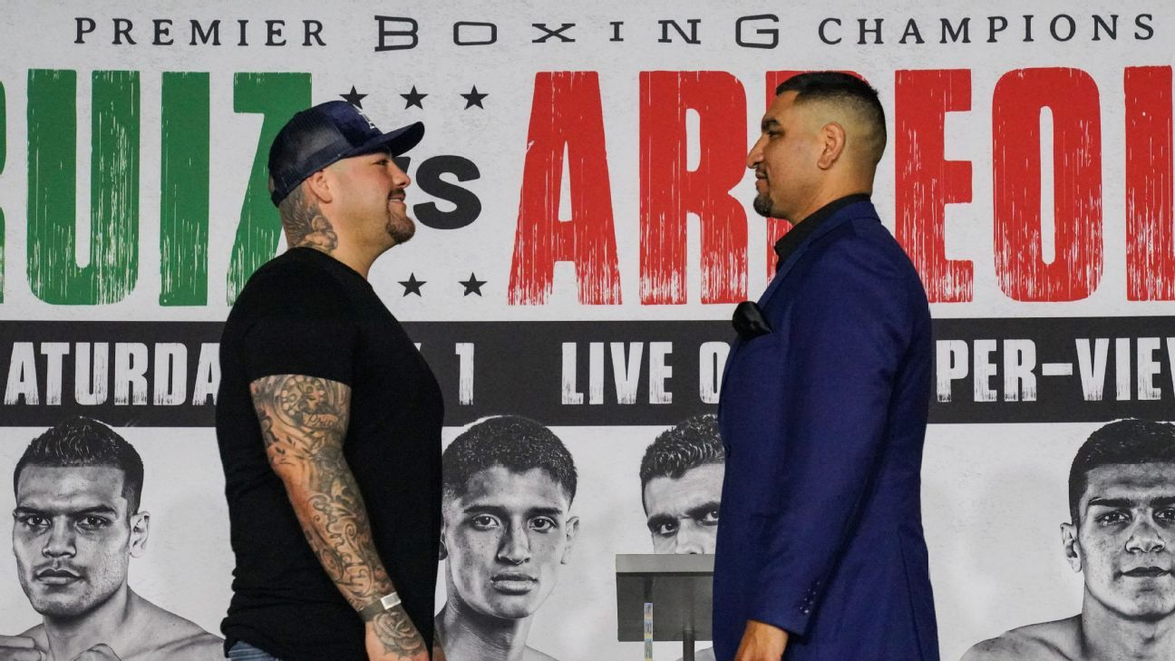 Ringside Seat: Andy Ruiz Jr. to get back on track; Chris Arreola looking for one more chance