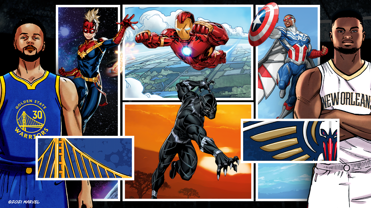 Avengers assemble: Picking the best Marvel characters on the court