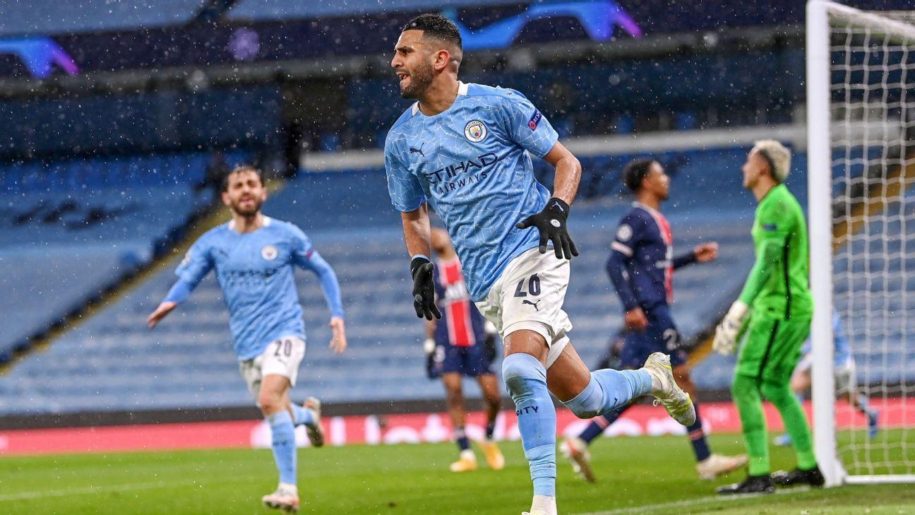 Manchester City vs. Paris Saint-Germain - Football Match Report - May 4, 2021 - ESPN