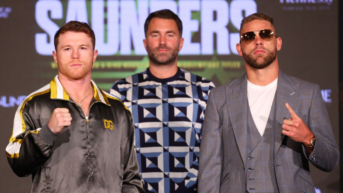 Can Canelo and Saunders turn boxing's attention back toward 'real' fights?
