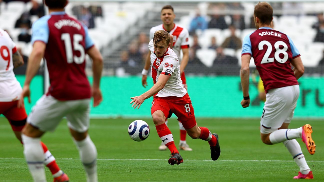 Transfer Talk: Spurs, Aston Villa eye Saints' Ward-Prowse