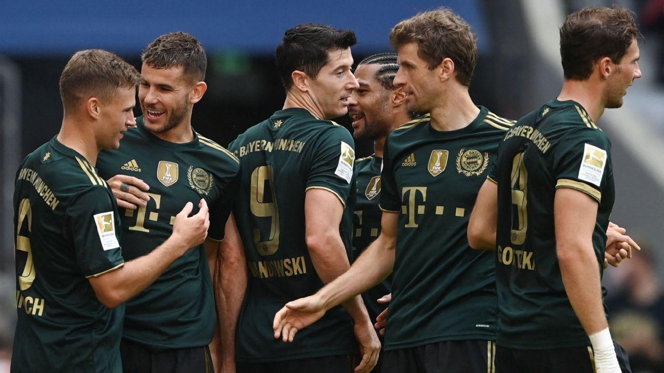 Bộ đồ chơi Oktoberfest của Bayern Munich thành công khi nhà vô địch Bundesliga giành chiến thắng 7-0