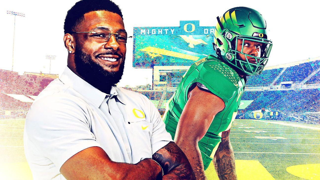 <div>Oregon's Kayvon Thibodeaux is more than the next potential No. 1 NFL draft pick</div>